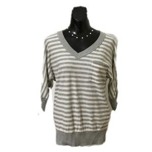 Mossimo Target striped v neck sweater